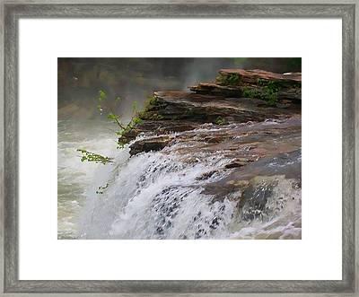 Falls Of Alabama Framed Print