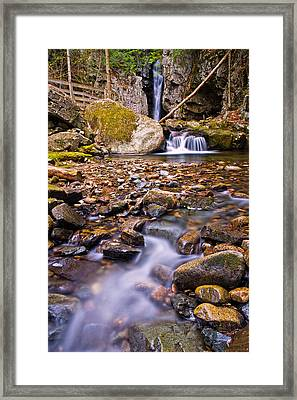 Falls Of Song On Shannon Brook Framed Print by Jeff Sinon