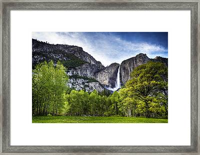 Falls Of The Valley Framed Print