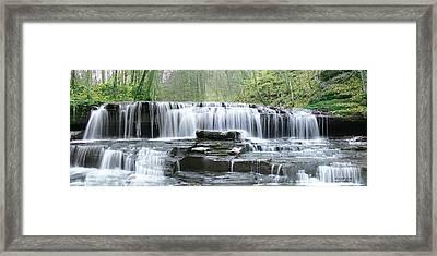 Falls Panorama Spring Framed Print by EricaMaxine  Price