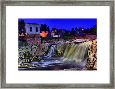 Falls Park 3 Framed Print by Michele Richter
