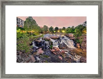 Falls Park Framed Print