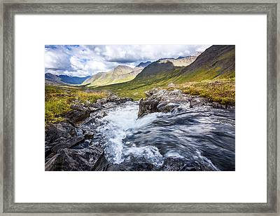 Falls With A View Framed Print