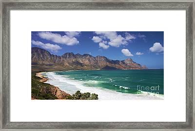 False Bay Drive Framed Print