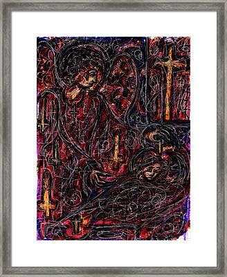 False Guardian Framed Print by Rachel Scott