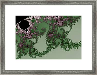 False Mandelbrot Byways No. 27 Framed Print by Mark Eggleston