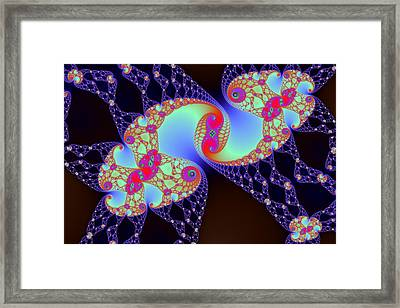 False Mandelbrot Byways No. 29 Framed Print by Mark Eggleston