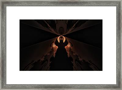 Framed Print featuring the digital art False Prophet by GJ Blackman