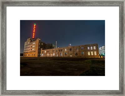 Falstaff Brewery Framed Print by Andy Crawford