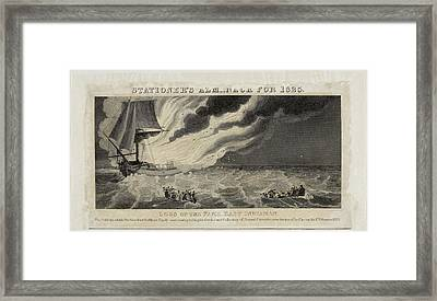 Fame East Indiaman Sailing Ship Framed Print by British Library