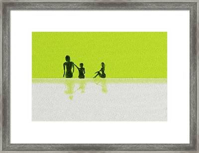 Family  Framed Print by Len YewHeng