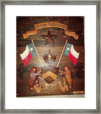 Family Crest Framed Print by Michael Pasko