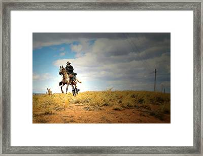 Family Day Framed Print by Diana Angstadt