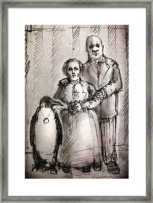 Family Framed Print by H James Hoff
