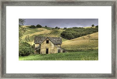 Family House Framed Print