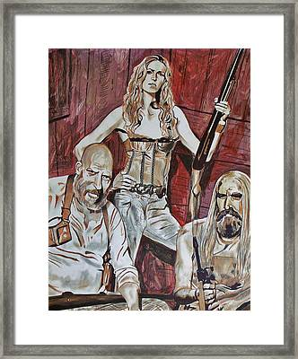Family Framed Print by Jeremy Moore