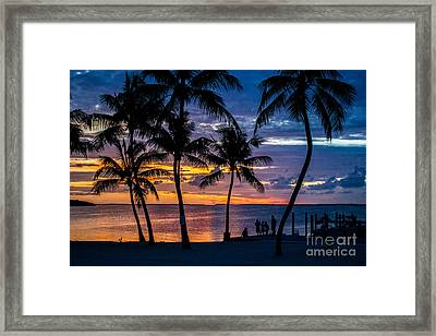 Family Journey Into The Night Framed Print by Rene Triay Photography