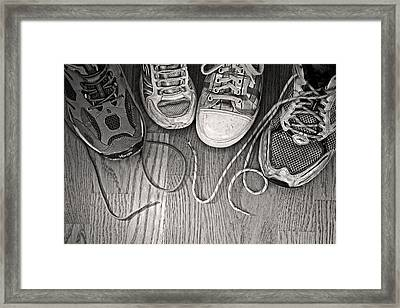 Framed Print featuring the photograph Family Love by Barbara West
