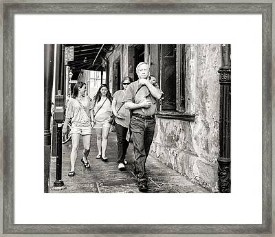 Family Man Framed Print