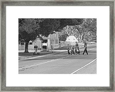 Family Framed Print by Mary Beth Landis