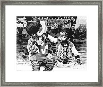 Family Matter Framed Print by Konstantinos-Pimba Botas