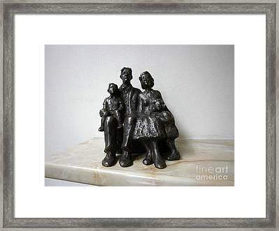 Family Framed Print by Nikola Litchkov