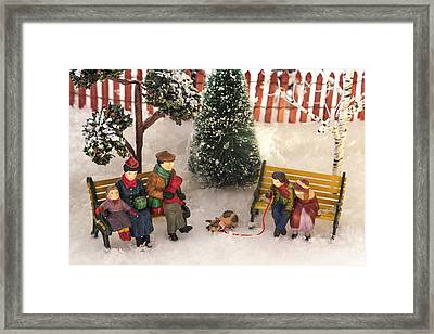 Family Outing Framed Print by Caitlyn  Grasso