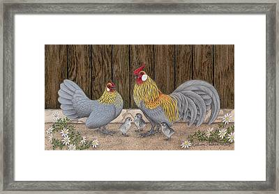 Family Outing Framed Print by Katherine Plumer