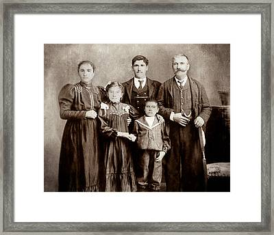 Family - Picture Two Framed Print