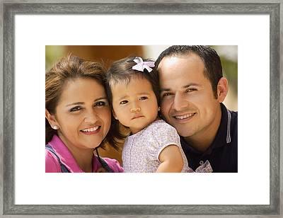 Family Portrait Framed Print by Don Hammond