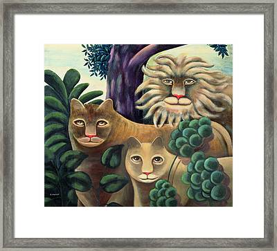 Family Portrait Framed Print