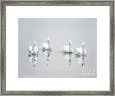Framed Print featuring the photograph Family Portrait by Mariarosa Rockefeller