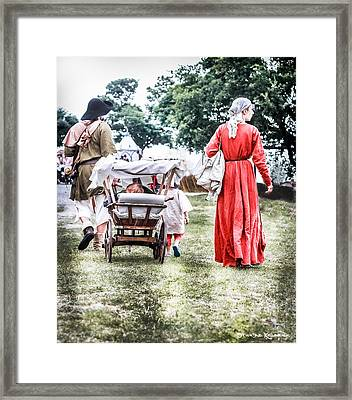 Framed Print featuring the photograph Family Rollin' by Stwayne Keubrick