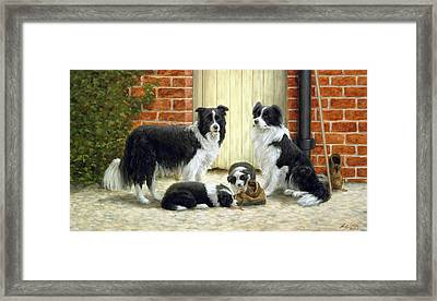 Family Ties Framed Print by John Silver