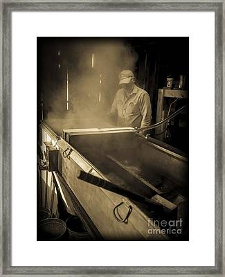 Family Tradition Framed Print
