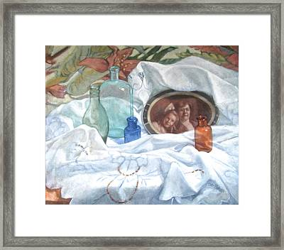 Family Treasures Framed Print by Janet McGrath