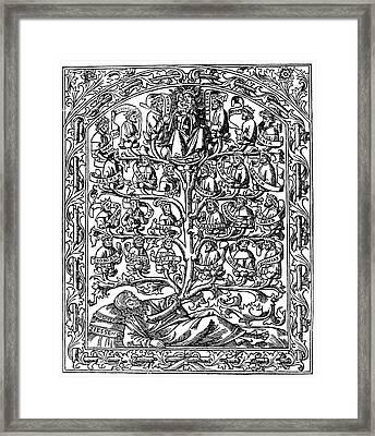 Family Tree, 1506 Framed Print by Granger