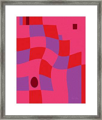 Family Values Squared Skewed Framed Print