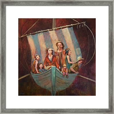 Family Vessel Framed Print by Jennifer Croom