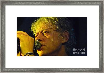Famous Face Framed Print by Julie Koretz