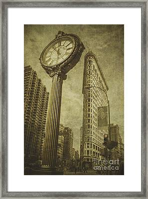 Famous Features Framed Print by Andrew Paranavitana