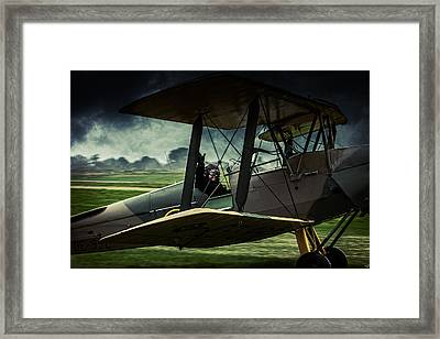 Famous Last Words Framed Print by Chris Lord