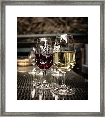 Famous Wine Of Sancerre Framed Print by Oleg Koryagin