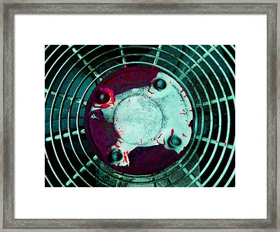 Fan 3 Framed Print