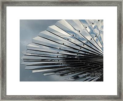 Fan In The Sky Framed Print