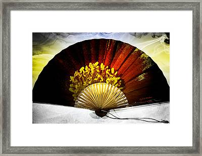 Fan Framed Print by Itzhak Richter
