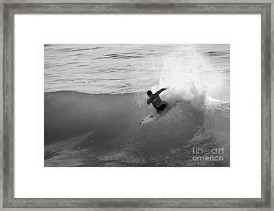 Fan Spray Framed Print by Paul Topp