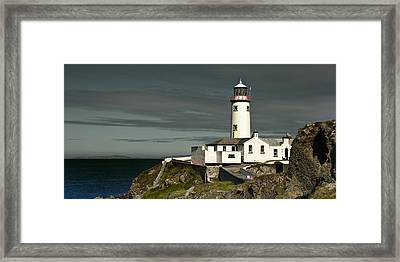 Fanad Head Lighthouse Framed Print by Jane McIlroy