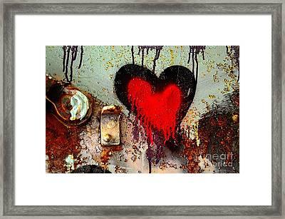 Fanatic Heart Framed Print by Lauren Leigh Hunter Fine Art Photography