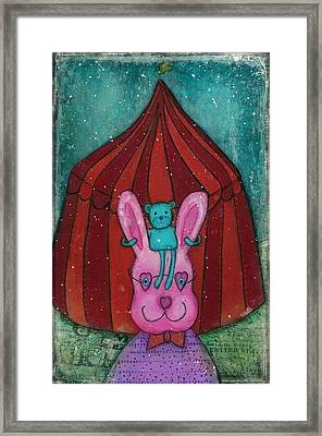 Fanciful Circus Framed Print